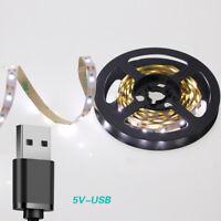 USB Power LED Light Strip Lamp 5V Indoor Decor String Light For TV Background