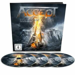 ACCEPT Symphonic Terror Live At Wacken 2017 Limited Earbook 2-CD DVD Blu-ray NEW