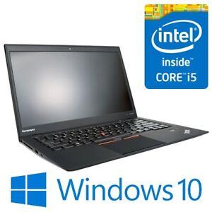 "Lenovo ThinkPad X1 Carbon Intel i5 3337U 8G 256G SSD WiFi 14"" Win 10"