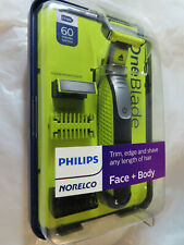 PHILLIPS NORELCO ONE BLADE FACE + BODY TRIMMER SHAVER QP2630/70  BRAND NEW