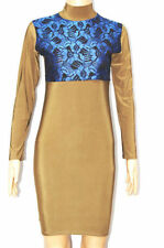 Polyester Polo Neck/Roll Neck All Seasons Dresses for Women