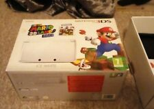 Nintendo 3DS Console Boxes & Paperwork only spare box Mario Edition Ice White