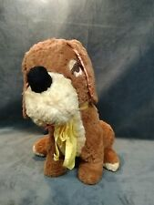 "Vintage  Jumbo Big Large  Puppy Dog 24""long 20"" tall Soft Plush Stuffed Vintage"