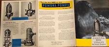 Pumps for Industrial Application Vintage Bulletin Pomona Pump Co Photos Features