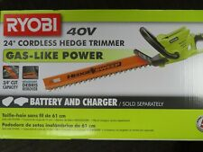 Ryobi 24 Inch 40-Volt Cordless Hedge Trimmer (Tool Only)