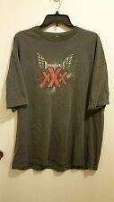 RARE TNA Triple X Shirt XXL/2XL Low Ki Christopher Daniels Elix Skipper WWE XXX