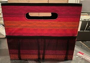 Thirty-One   FOLD N FILE in OMBRE STRIPE   New in Original Bag