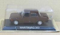 """DIE CAST """" WARTBURG 353 """" LEGENDARY CARS SCALA 1/43"""
