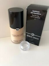 Giorgio Armani Luminous Silk Foundation Shade 4 Sample Pot 2ml Only