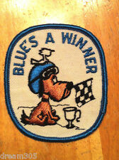 Vintage Polaris Snowmobile Sled Snowboard Snoopy Patch 1960's 1970's! Nice!