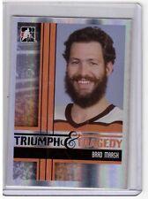 BRAD MARSH 11/12 ITG Broad Street Boys Base Card #38 Philadelphia Flyers SP