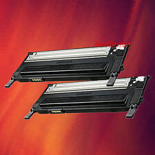 2 Black Toner CLT-K409S for Samsung CLP-315 CLX-3175FW