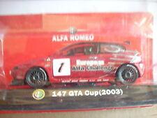 ALFA ROMEO 147 GTA CUP 2003 SCALA 143