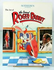 SOTHEBY'S Animation The Art of Who Framed Roger Rabbit Auction Book Catalog '89