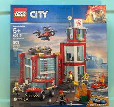 LEGO City (60215) Fire Station 509 Pcs NEW Sealed Ships Free