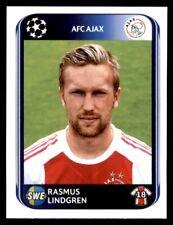 Panini Champions League 2010-2011 Rasmus Lindgren AFC Ajax No. 454