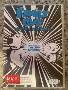 Family Guy season 13 - DVD - Perfect AS NEW condition - 3 disc set comedy series