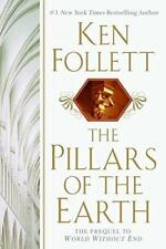 KEN FOLLETT THE PILLARS OF THE EARTH HARDCOVER 1ST ED 5TH IMPRESSION NEW OOP