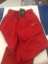 Nike BOYS TG. S Pantaloni tuta in poliestere UNIVERSITY RED/Bianco/Bianco, Rosso