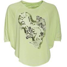 Converse Womens Sloth Butterfly Graphic T-Shirt, Green, Small/Medium, BNWT
