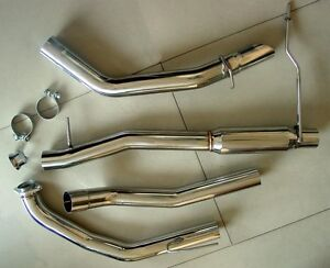 "★ NEW  MERKUR XR4Ti  3"" Stainless Steel Performance Exhaust System w/ Downpipe ★"