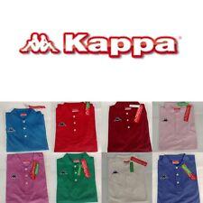 KAPPA WOOP Polo T-Shirt Uomo 18 Colori Cotone Piquet Regular Fit