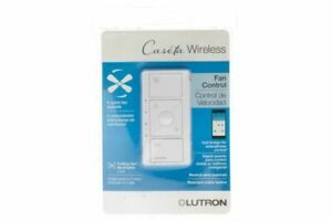 Lutron PD-FSQN-WH-R Caseta Wireless Smart Fan Speed Control - White