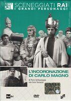 Dvd Sceneggiati Rai L'INCORONAZIONE DI CARLO MAGNO con Enzo Tarascio nuovo 1968