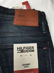 Tommy Hilfiger Men's skinny Sidney Jeans RIVVC