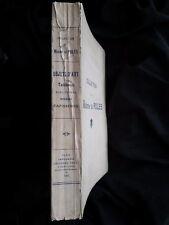 Catalogue vente enchères 1927 Tableaux objet vitrine sculpture meuble art tapis