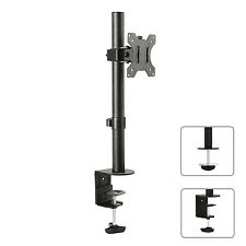 """Tischhalterung Monitorarm 360° Monitor Halterung Kabelführung 75-100 VESA 13-32"""""""