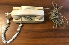 Vintage GTE Starlite Rotary Dial White Telephone