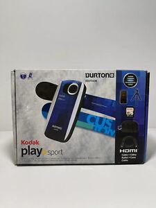Kodak Play Sport Zx5 Burton Edition DIS Waterproof Full HD 5MP Camcorder