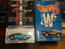 HOT WHEELS LIMITED EDITION LOT OF 2 MUSTANGS, 67 MUSTANG & 70 MACH1