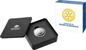 2021 Australia RAM $5 Silver Proof 1oz Coin - Centenary of Rotary