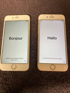 Apple iPhone 6s - 16GB - Rose Gold (Verizon) and Space Grey