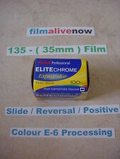 BUY NOW before the NEW EKTACHROME is Here. 135 Still Camera Film 35mm 100ASA