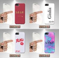 Coque Pour , Samsung, Étreintes, Silicone, Doux, Kiss, Nom, Couleurs, Chic, Étui