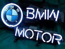"New BMW Motor Neon Light Sign 24""x20"""