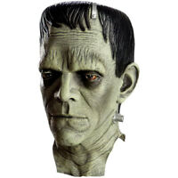 Frankenstein Mask Universal Monsters Licensed Full Head Boris Karloff NEW w/Tags