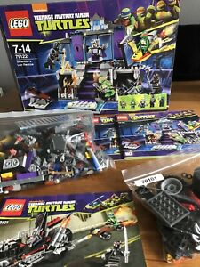 lego teenage mutant ninja turtles Sets: 79101 & 79122 - NO MINI FIGS