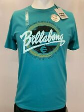 New Billabong Cursive Paint Men's Short Sleeve T-Shirt, Mult Colors, S-L, Slim