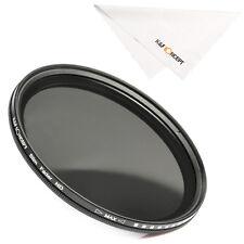 49mm Slim Fader Variable Lens Filter Adjustable Neutral Density ND2 ND4 to ND400