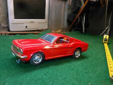 Vintage Tin TAIYO tin 1965 Mustang Battery Operated Fastback GT Japan Made