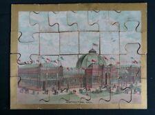 1876 Philadelphia American Centennial Exposition / Exhibition Puzzle COMPLETE