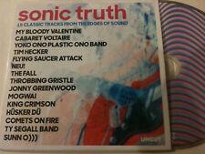'SONIC TRUTH' 2018 UK 'Uncut' Compilation Promo CD - Mogwai, King Crimson, Fall