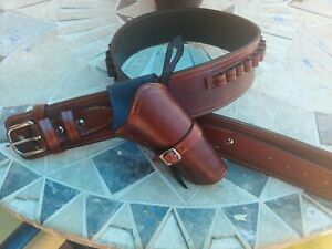 western cowboy holster belt cross draw SASS