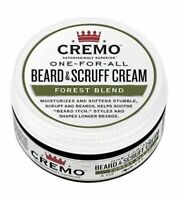CREMO one for all Beard & Scruff Cream Forest conditioner softener 4oz
