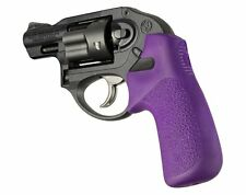 NEW PURPLE Hogue Tamer Combat Rubber Grip Fits ALL RUGER LCR LCRX LCR-X
