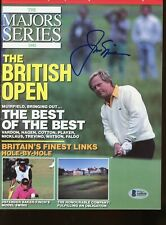 Jack Nicklaus Autographed Signed Majors Magazine British Open Certified BAS LOA